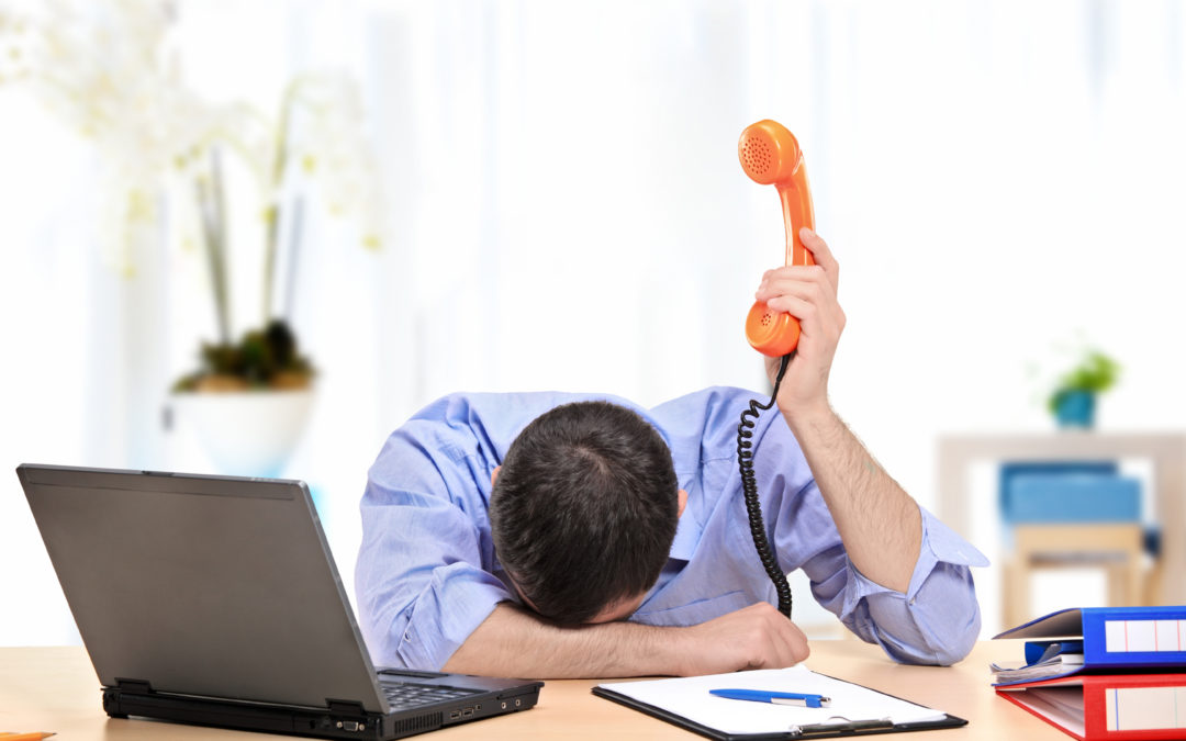 Dominar el estrés en la atención al cliente.