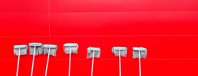 Limpieza paredes